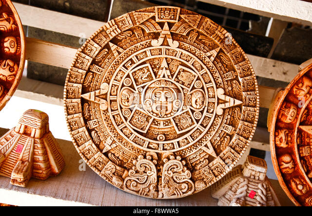 Mayan art wood stock photos mayan art wood stock images for Mexican arts and crafts for sale