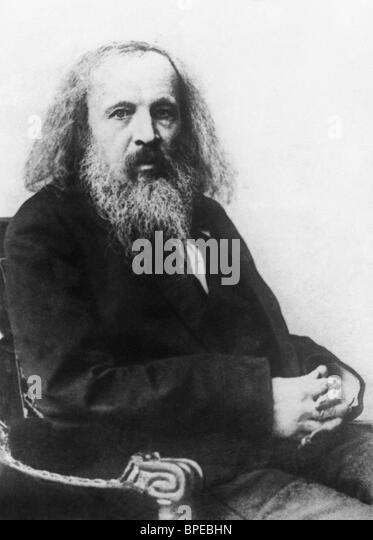 a biography of dmitri ivanovich mendeleev a chemist Dmitri ivanovich mendeleev (/ chemistry recommended to the swedish academy to award the nobel prize in chemistry for 1906 to mendeleev for his discovery of the.
