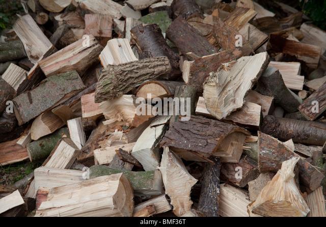 Log Pile Garden Stock Photos Log Pile Garden Stock