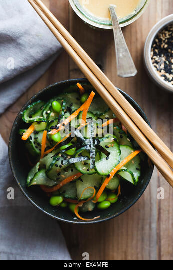 Green Salad With Carrots Stock Photos & Green Salad With Carrots Stock ...