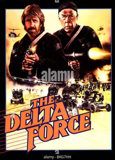 Delta Force Movie Poster
