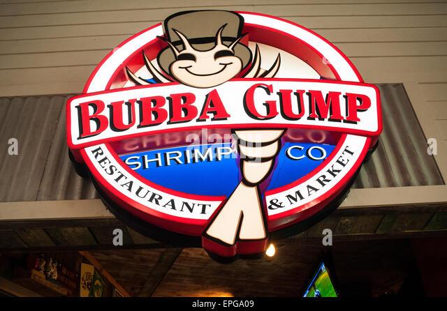 bubba gump shrimp company stock photos & bubba gump shrimp company