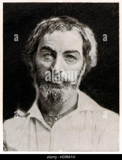 a biography of walt whitman the american poet Walt whitman [1819-1892] is possibly the most influential american poet of his  era, and his volume 'leaves of grass' [first published 1848 and expanded in later .