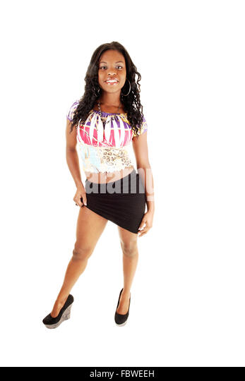 Lastest Businessman Looking Up At Young Woman Standing On Desk Lifting Skirt