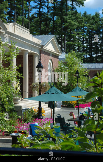 USA New York Saratoga Springs Spa State Park Bath House