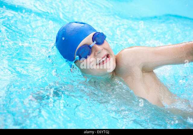 Outdoor Swimming Pool Uk Stock Photos Outdoor Swimming