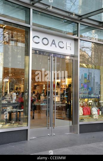 coach purse outlet store vgy8  Coach handbag store, New York, USA