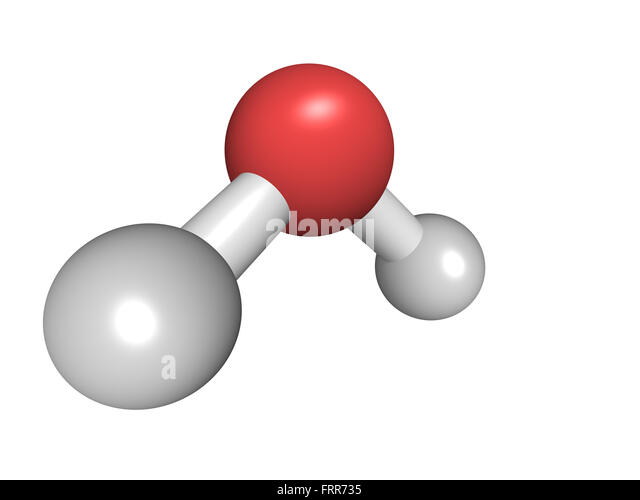 H2o Molecule Model Stock Photos & H2o Molecule Model Stock ...