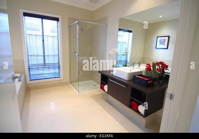 Ensuite Bathroom Without Window ensuite bathroom stock photos & ensuite bathroom stock images - alamy