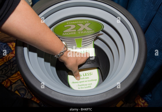 Home Trash Compactor trash compactor stock photos & trash compactor stock images - alamy