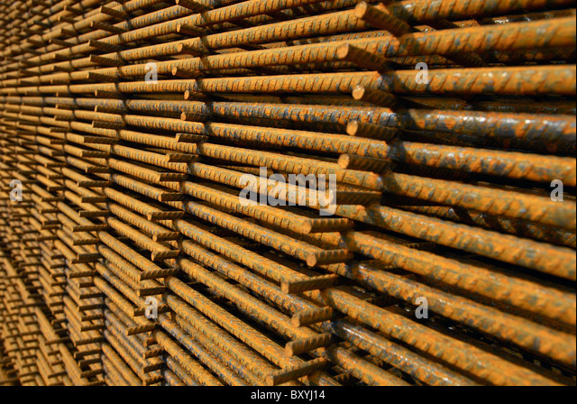 Concrete Reinforcing Steel Detailing : Concrete reinforcement steel rebar cut stock photos