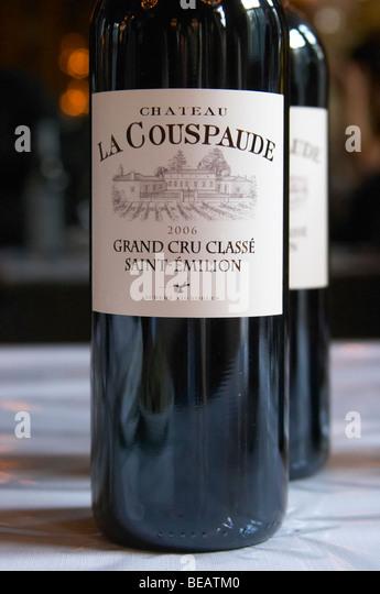 Saint Emilion Bordeaux Bottles Stock Photos & Saint Emilion ...