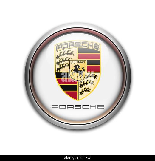 Porsche Logo Stock Photos Amp Porsche Logo Stock Images Alamy
