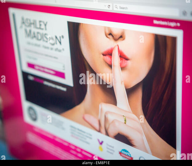AshleyMadison com  the dating site for primarily married people  is seen on Wednesday Alamy