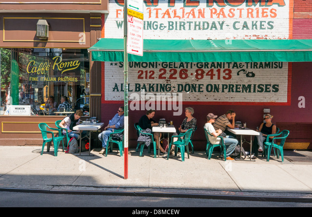 Cafe Roma Mulberry St New York Ny