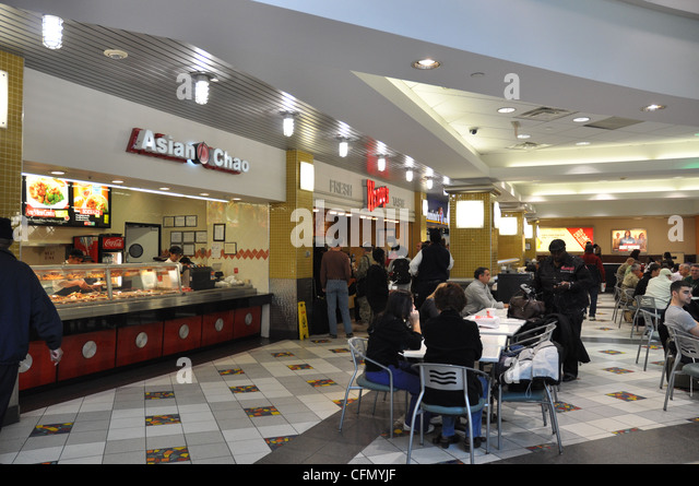 Fast Food Court Stock Photos & Fast Food Court Stock