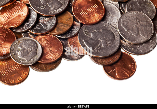 Copper Coins Stock Photos Amp Copper Coins Stock Images Alamy