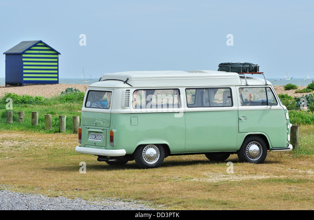 VW Camper Van Hayling Island Hampshire UK