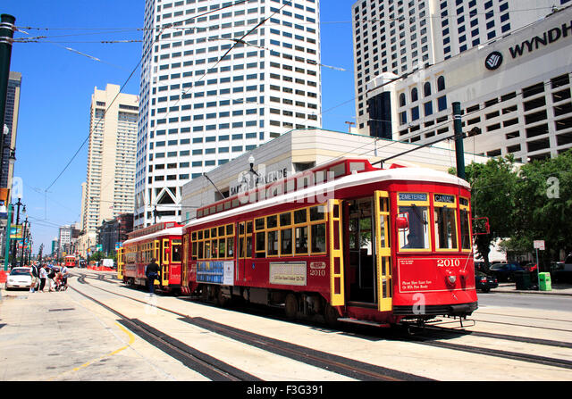 famous new orleans tram stock photos famous new orleans tram stock images alamy. Black Bedroom Furniture Sets. Home Design Ideas