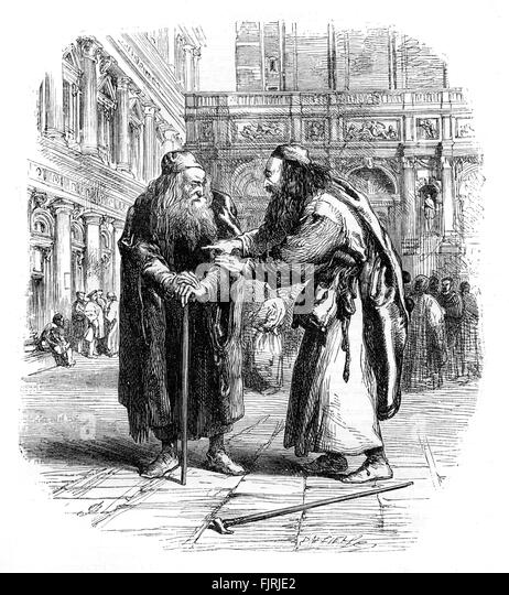merchant of venice shylock and antonio Summary of william shakespeare's merchant of venice: shylock demands a pound of flesh that bassanio agreed to portia saves the day as a cross-dressing lawyer.