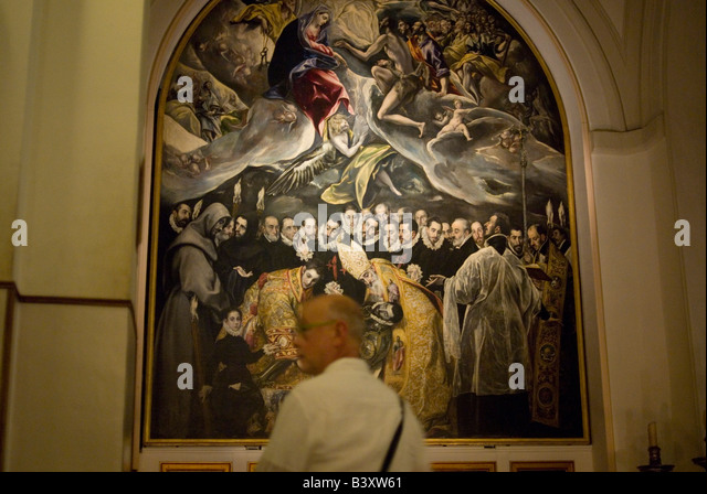 an analysis of the burial of count orgaz a painting by el greco Which of the following is an aesthetic question you could ask about el greco's the burial of count orgaz does the painting have to tell a story to be considered art in which step of the critical analysis process would you express your personal opinion about whether or not an artwork is successful.