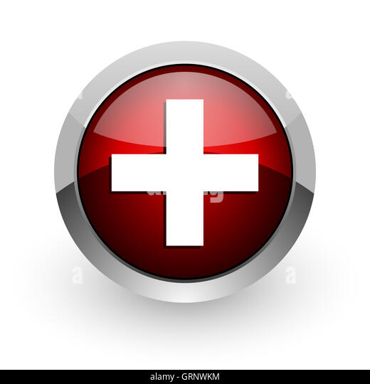 Circle Emergency Room Icon