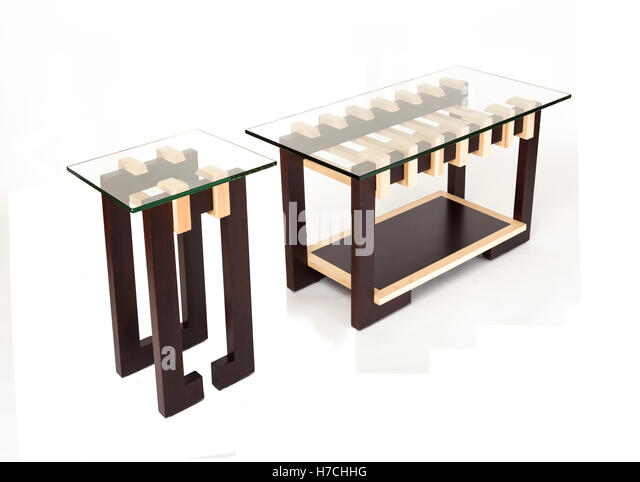Modern Coffee Tables Office Furniture On A White Background Diagonal