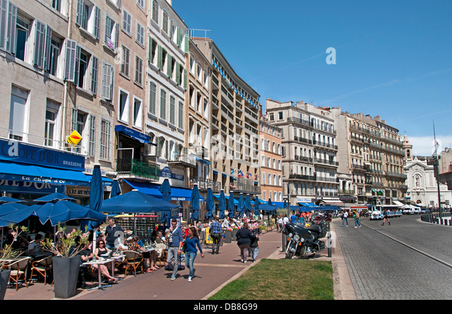 Marseilles cafe stock photos marseilles cafe stock images alamy - Au vieux port restaurant marseille ...