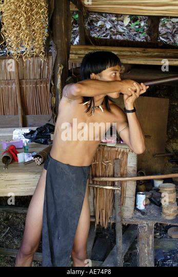 how to make a blowpipe