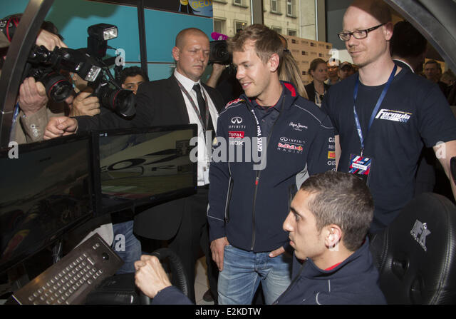 meet and greet sebastian vettel 2013 honda