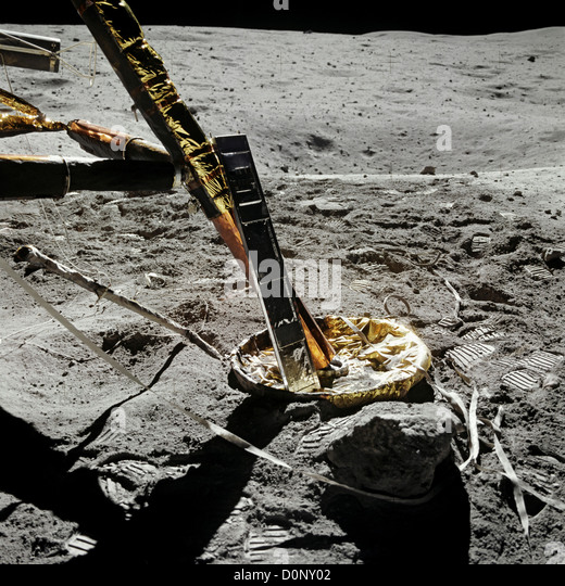 Apollo Lunar Landing Craft Pads