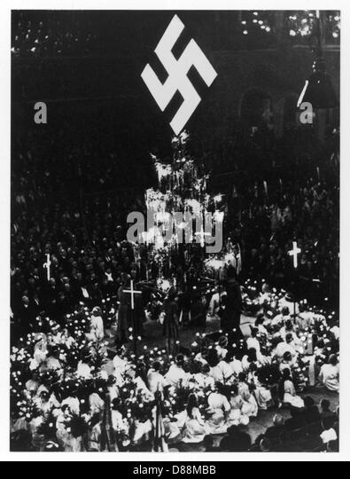 nazi idealogy Others persist in blaming pius xii for failing to condemn nazism more strongly for  its persecution of the jews of europe the catholic church in particular has.