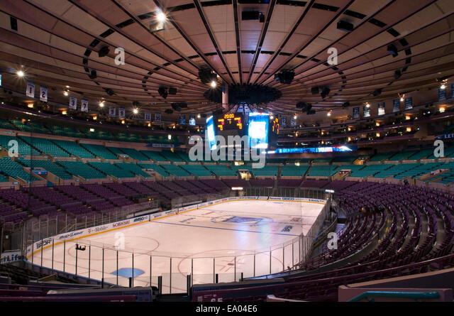Knicks Madison Square Garden Stock Photos Knicks Madison