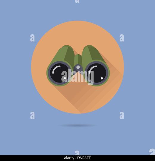binoculars icon flat - photo #7