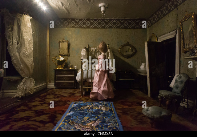 Victorian Dolls House Stock Photos Victorian Dolls House