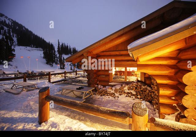 Whistler canada cabin stock photos whistler canada cabin for Cabine in whistler