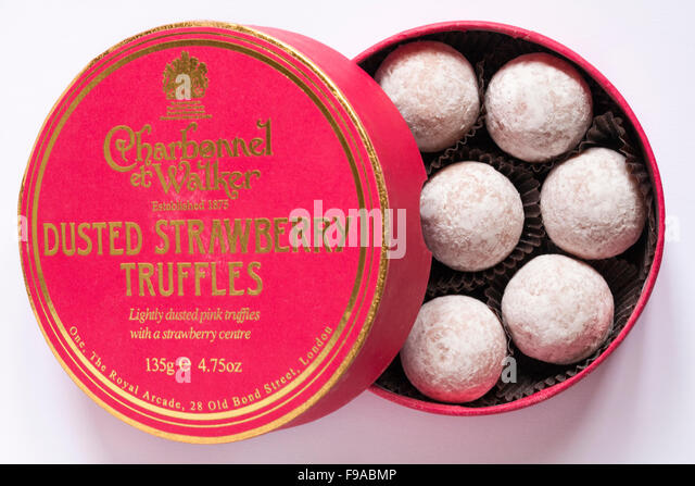 A g walker stock photos a g walker stock images alamy for Strawberry truffles recipe uk