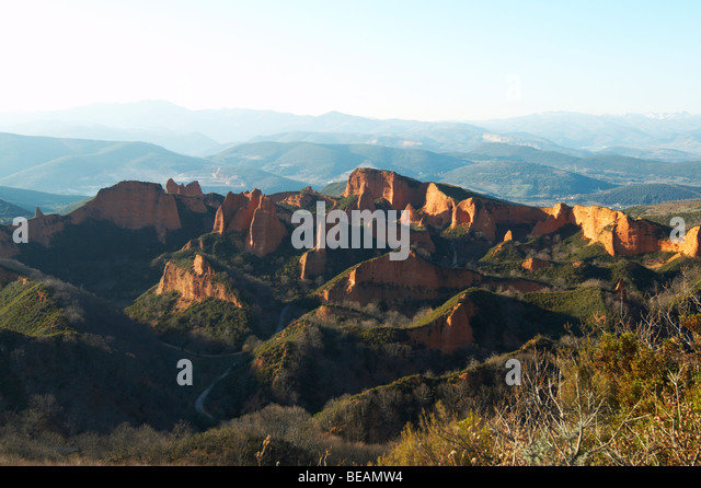 Las Medulas Spain Stock Photos & Las Medulas Spain Stock Images - Alamy
