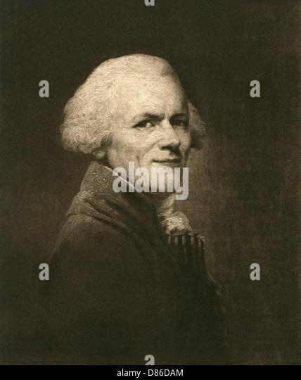 Portrait Of Maximilien Fran?ois Marie Isidore De Robespierre , Stock Image