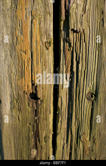 Wooden Post Texture old weathered wooden fence post stock photos & old weathered