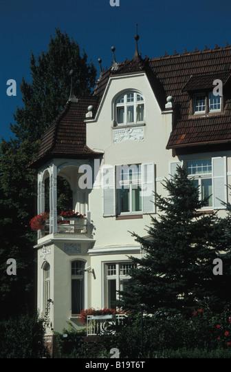 alster villas stock photos alster villas stock images alamy. Black Bedroom Furniture Sets. Home Design Ideas
