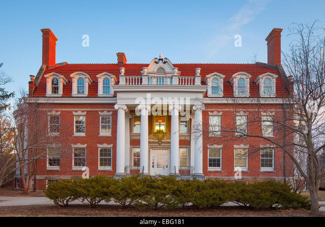 Alumni Hall, Iowa State University, Iowa.   Stock Image Part 94