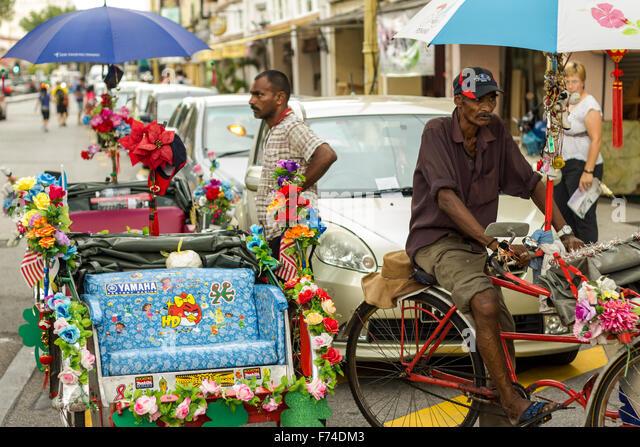 Street Food Market People Georgetown Stock Photos Street Food