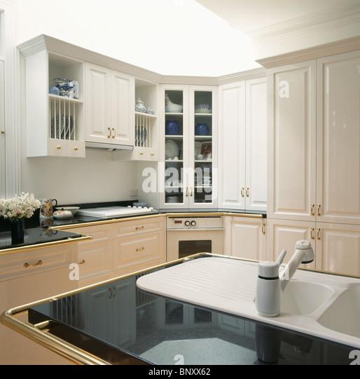 Granite Kitchen Worktops Images: Corian Sink Stock Photos & Corian Sink Stock Images