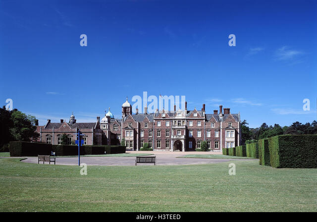 Great Britain South Narrow Country Norfolk Sandringham House Park England