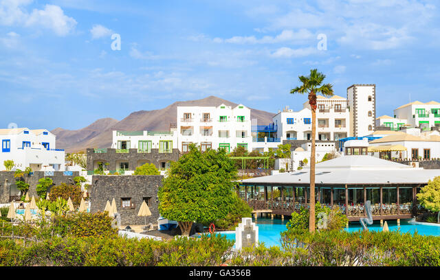 Villa marina stock photos villa marina stock images alamy for Villas rubicon lanzarote