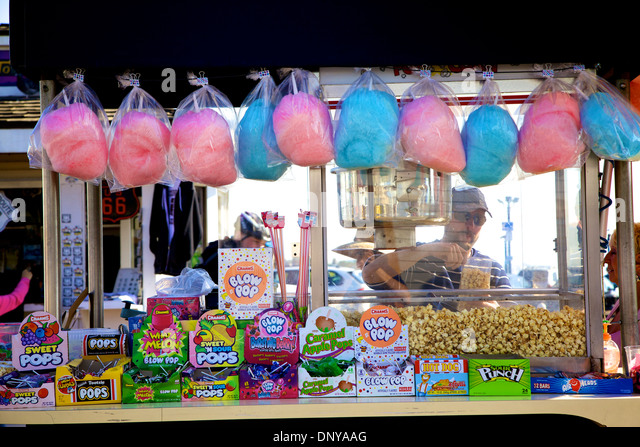 how to make a cotton candy stand