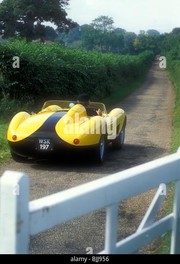 Ferrari 250 TR 1950u0027s Sports Racing Car.   Stock Image