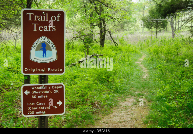 Trail Of Tears Stock Photos Trail Of Tears Stock Images