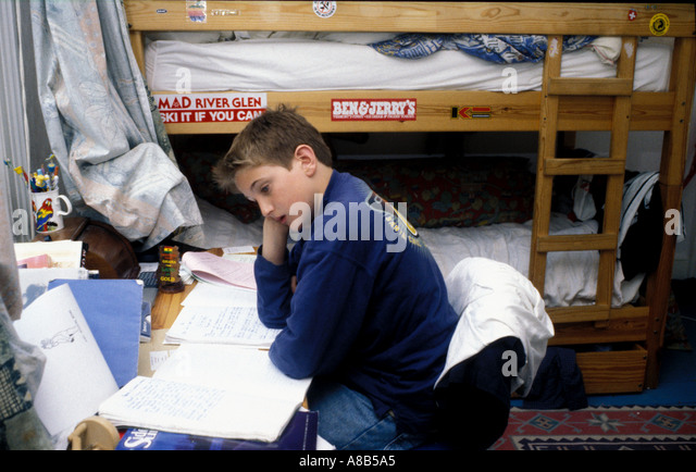 Room Teenage Mess Papers Stock Photos Room Teenage Mess